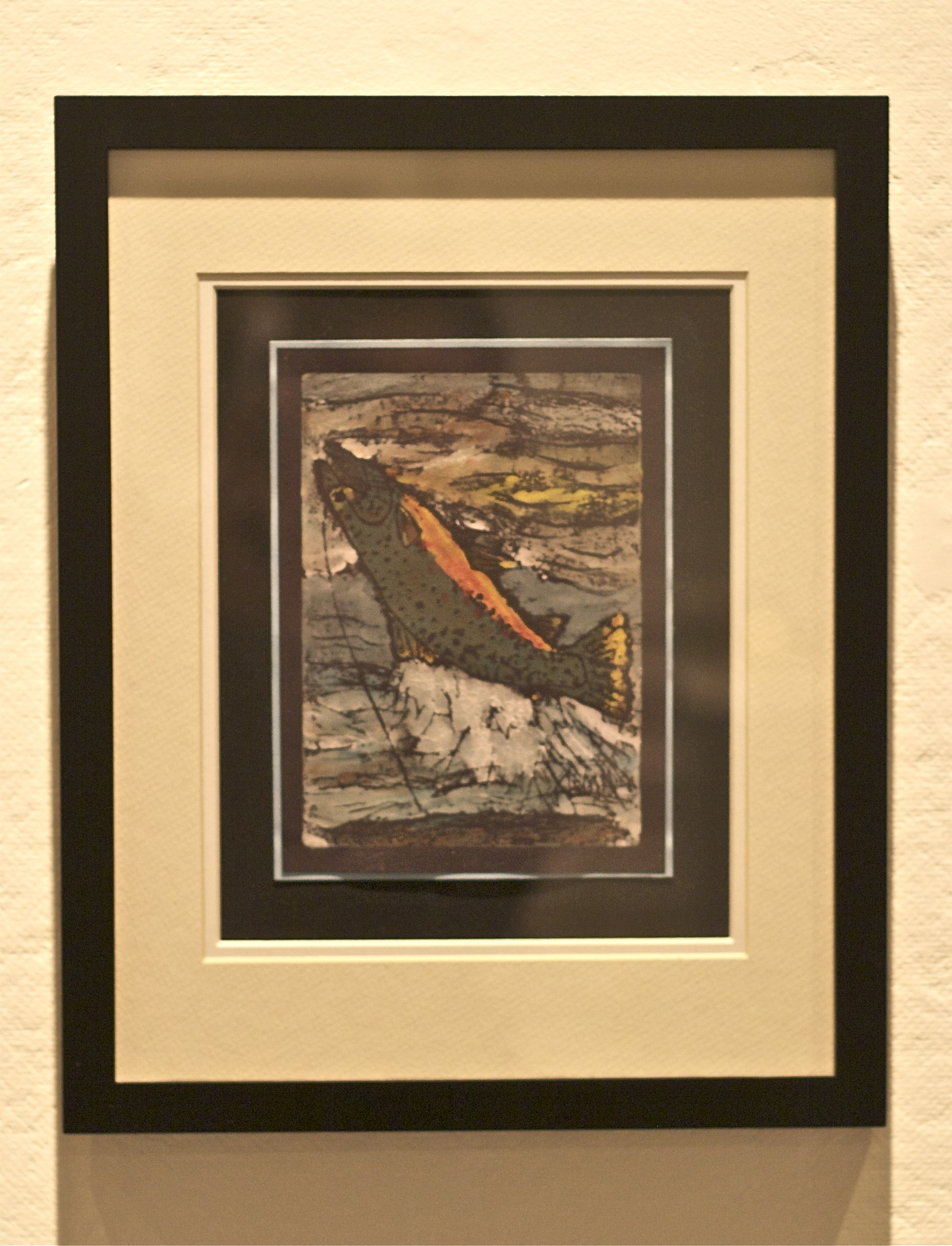 Trout Rising, by Joan Avato