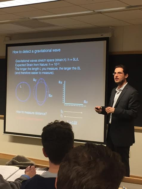 Dr. Antonios Kontos (MIT) explains the science behind the detection of gravitational waves.