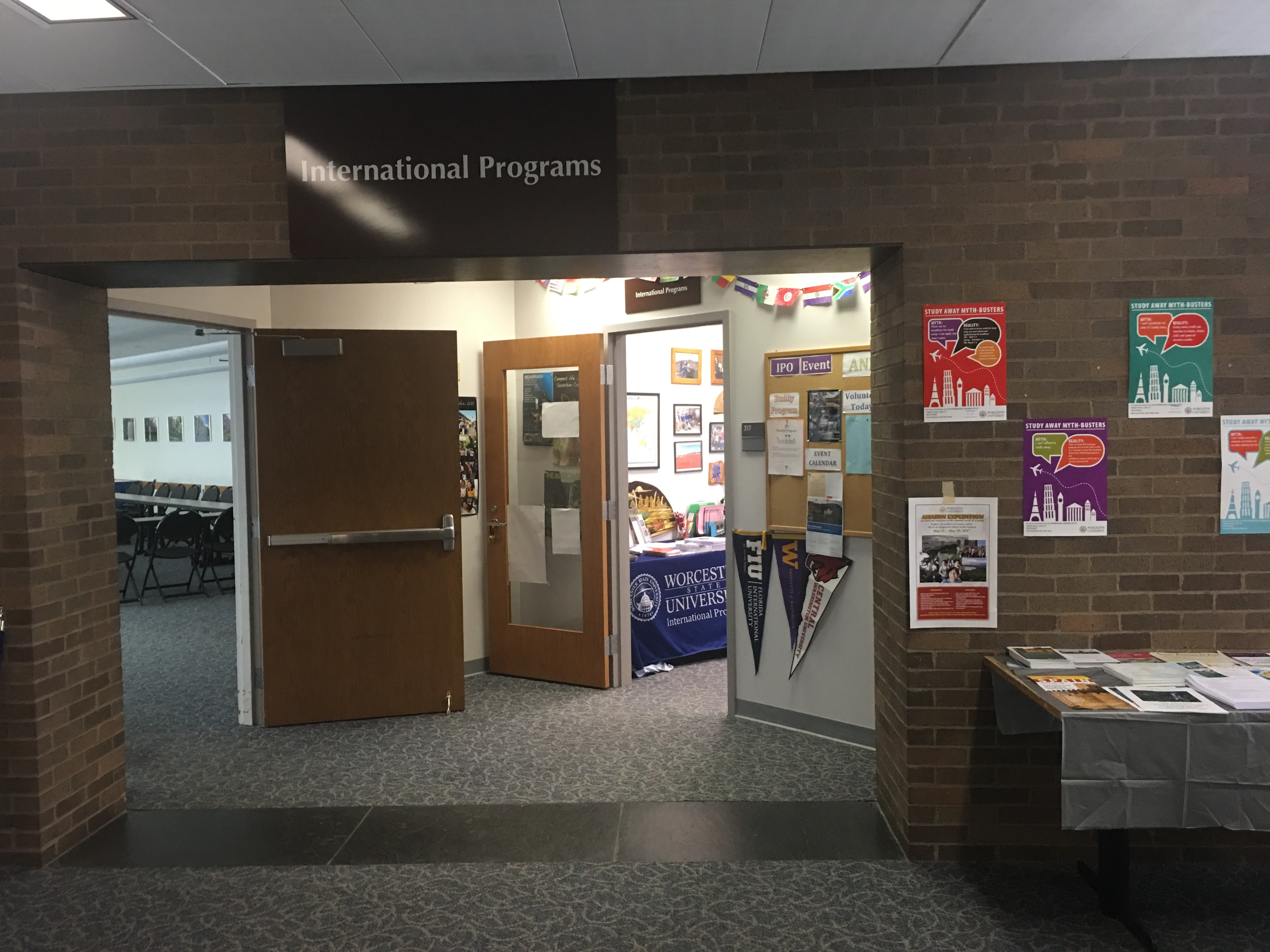 The International Programs office at WSU.