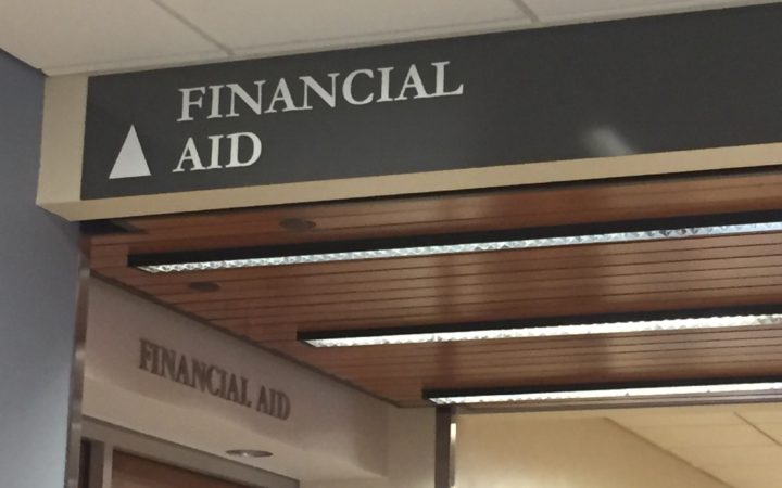 The Financial Aid office at WSU.